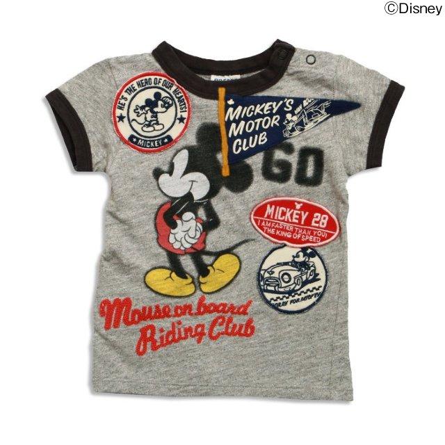 DY ミッキーリンガーTシャツ