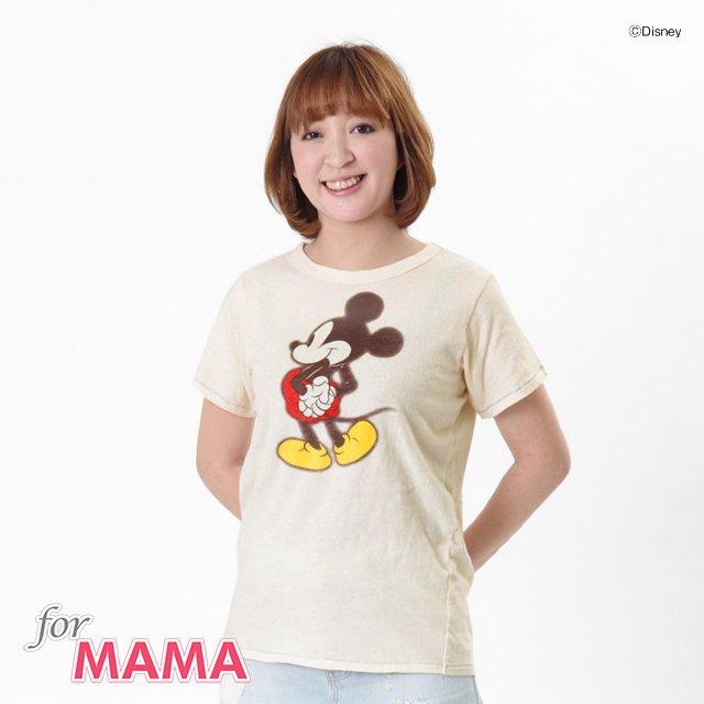 DY ミッキーMOM Tシャツ