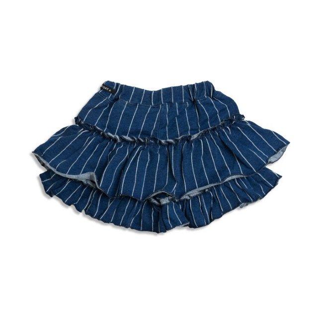 裾フリルショートパンツ