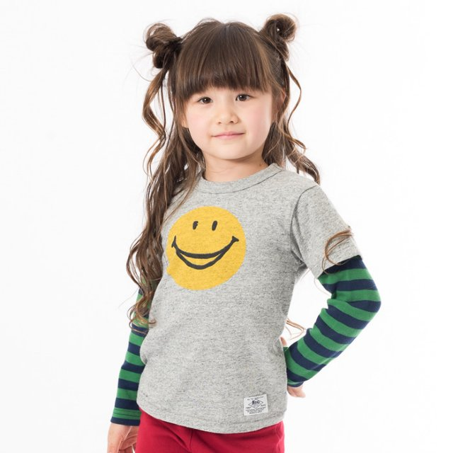 2PFOスマイルTシャツ